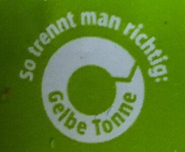 Speisequark 20% Fett i. Tr. - Instruction de recyclage et/ou information d'emballage - de