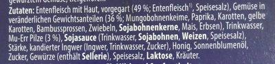 Knusper-Ente - Ingrédients