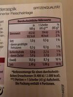 Hähnchenfleisch in Rinderaspik - Nutrition facts - de
