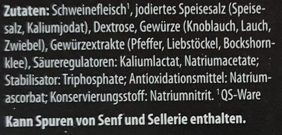 Schinken-Genuss - Ingrédients - de