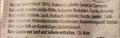 Mini Wiener Würstchen - Ingredienti - de