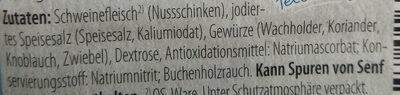 Gourmet rohschinken - Ingredienti - de