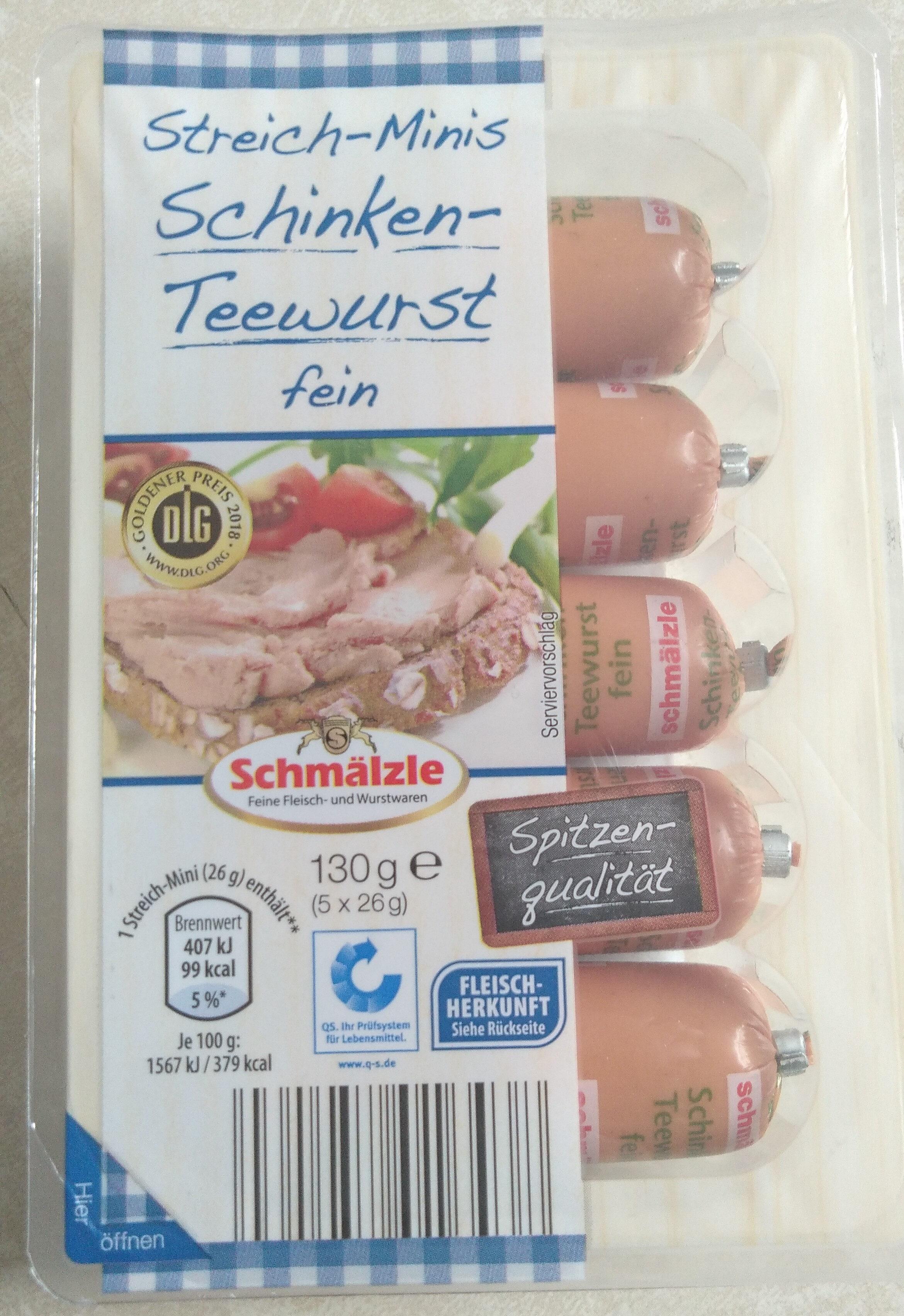 Streich-Minis Schinken-Teewurst fein - Product