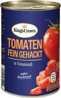 Tomaten gehackt - Produkt - de