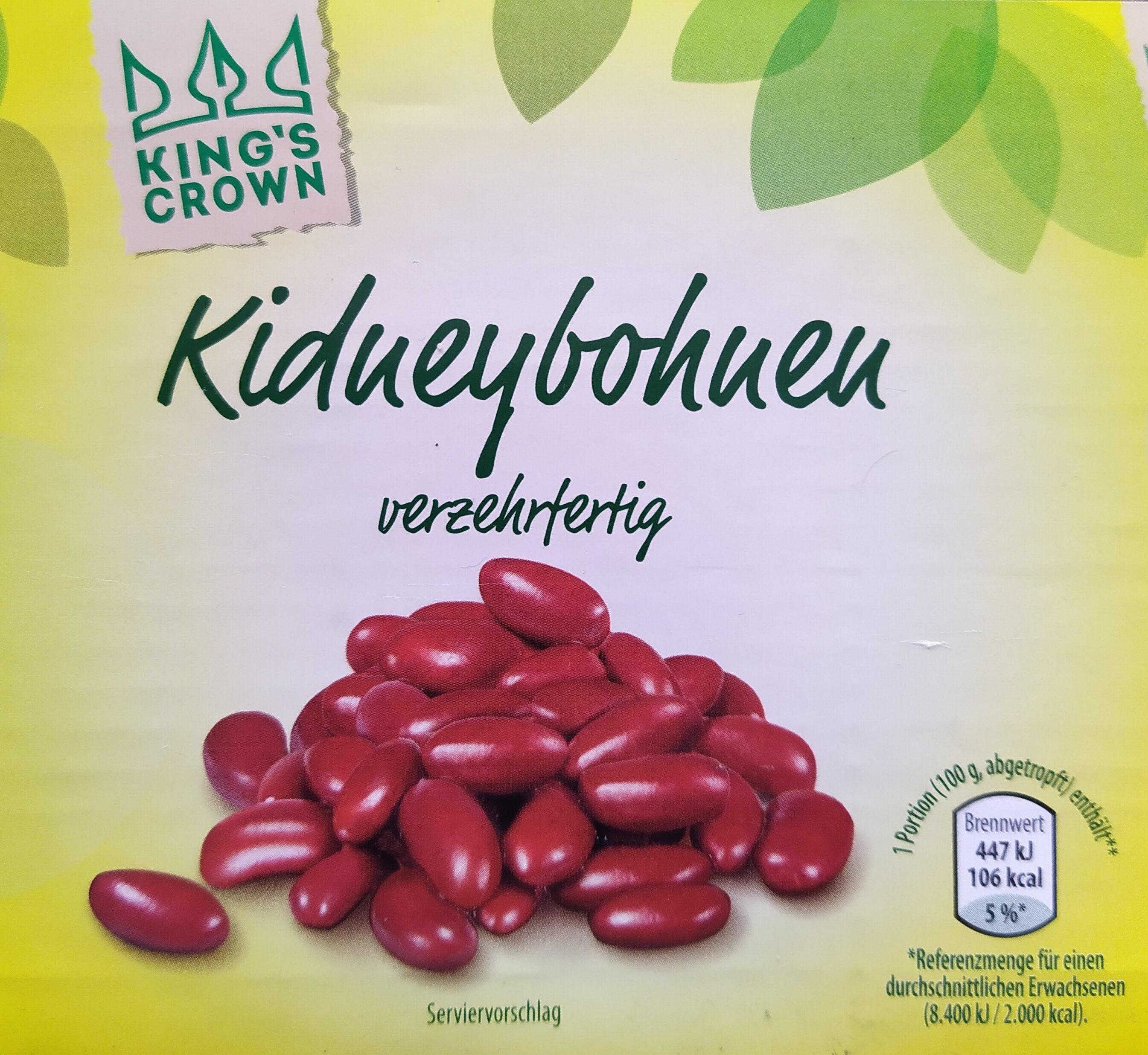 Kidneybohnen - Produit - de