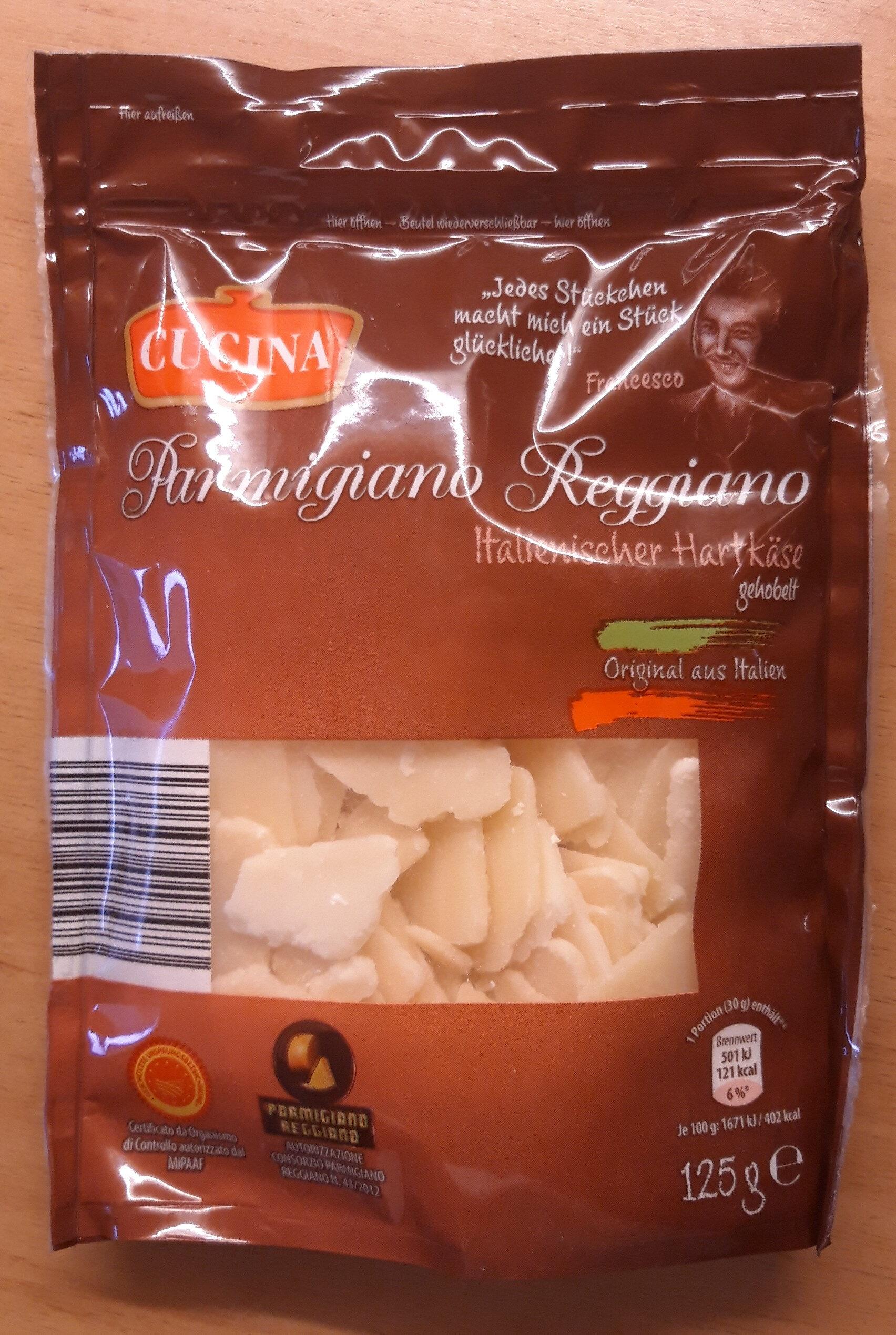 Parmigiano Reggiano Italienischer Hartkäse - Product
