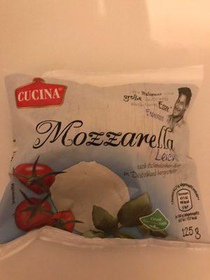 Mozzarella leicht - Produkt