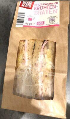 Club Sandwich Krusten-Braten - Produkt - de