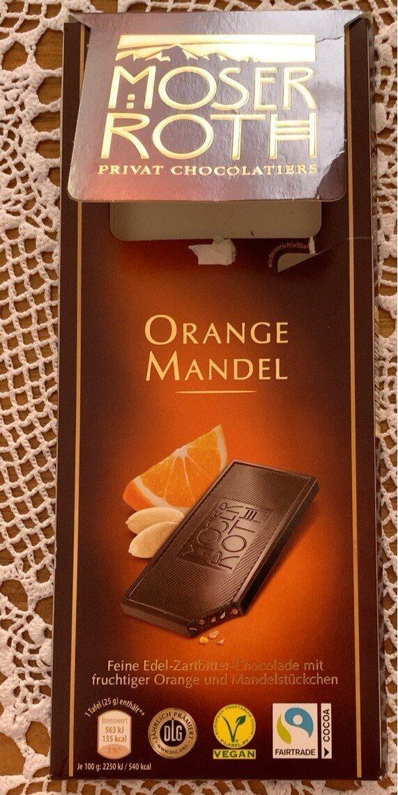 Orange Mandel - Product - de
