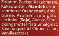 Orange Mandel - Ingredients - de