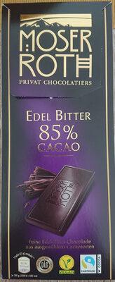 Edel Bitter 85% Cacao - 产品 - de