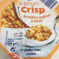 Joghurt-Crisp - Produit - en