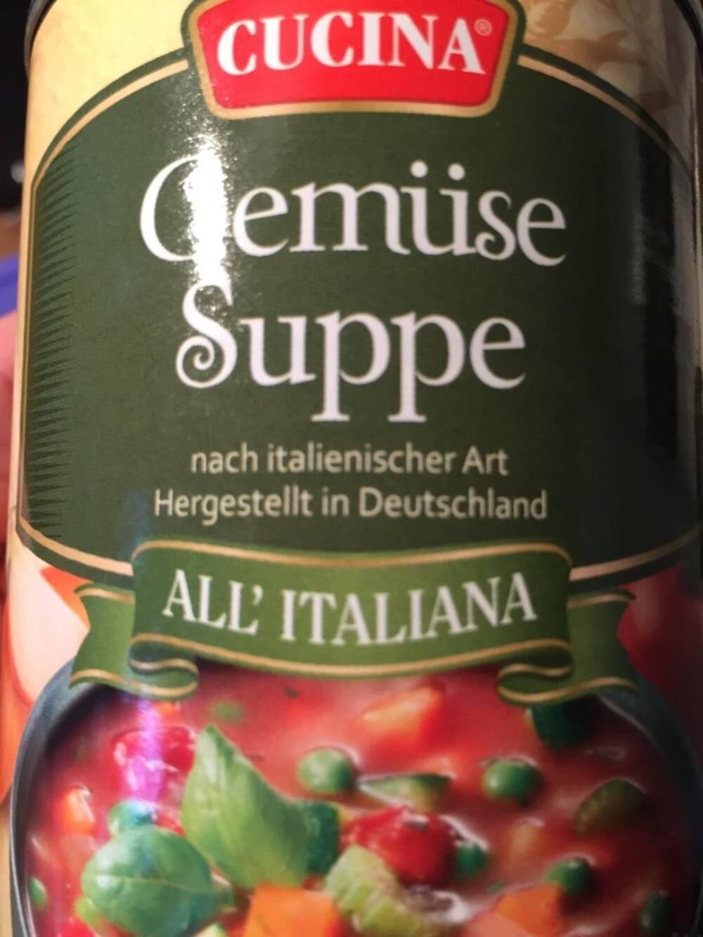 Gemüse Suppe - Produit - de