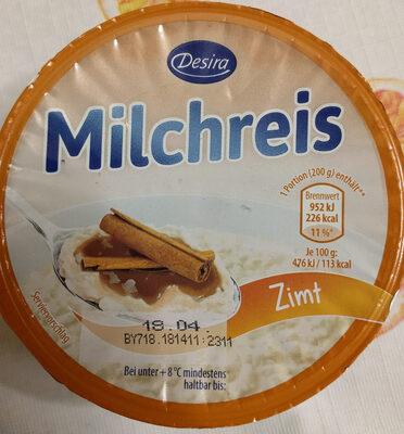 Milchreis - Produkt