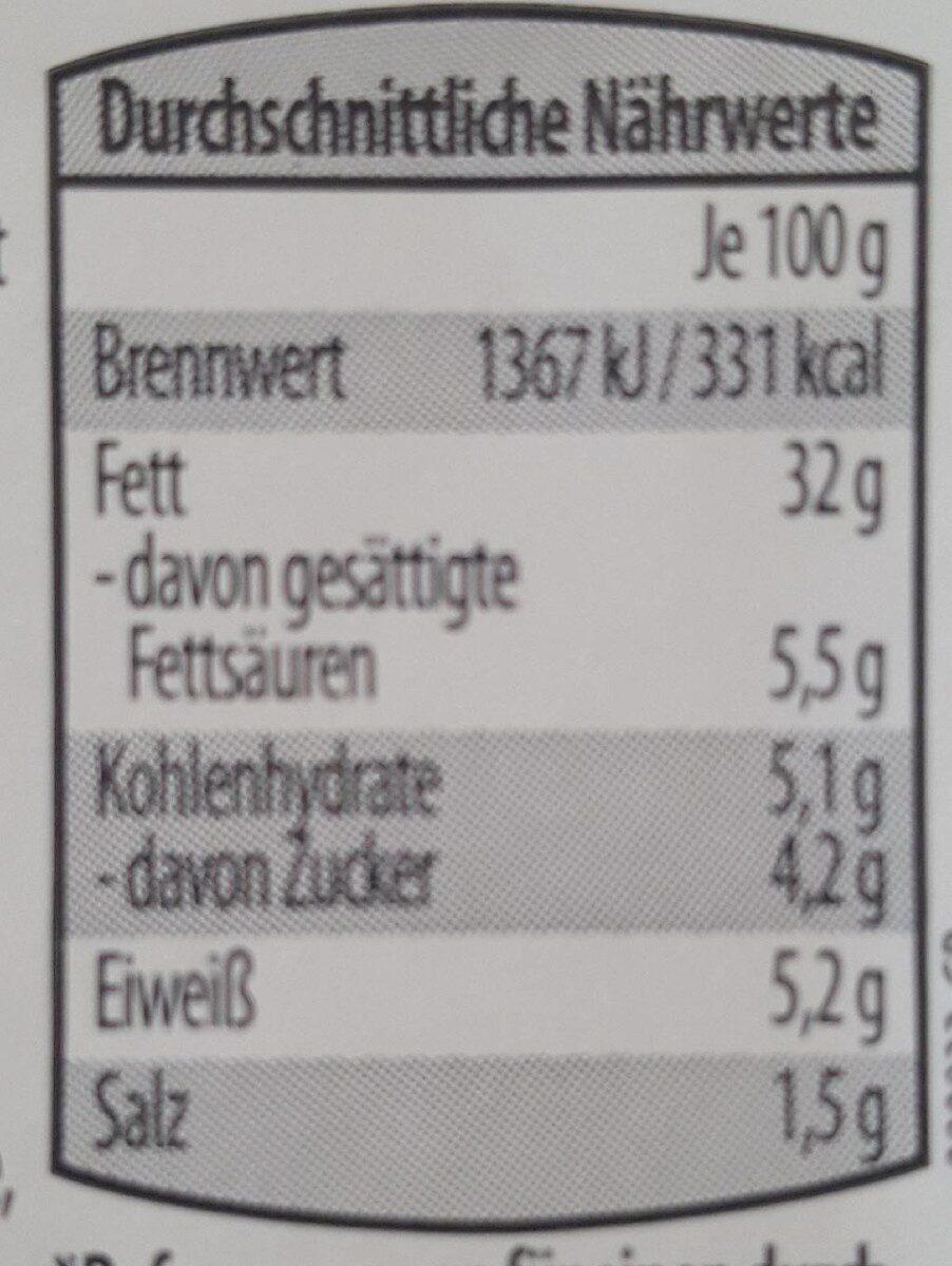 Feiner Fleischsalat - Informations nutritionnelles - de