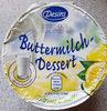 Buttermilch-Dessert zitrone - Produkt