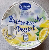 Buttermilch-Dessert zitrone - Product - de
