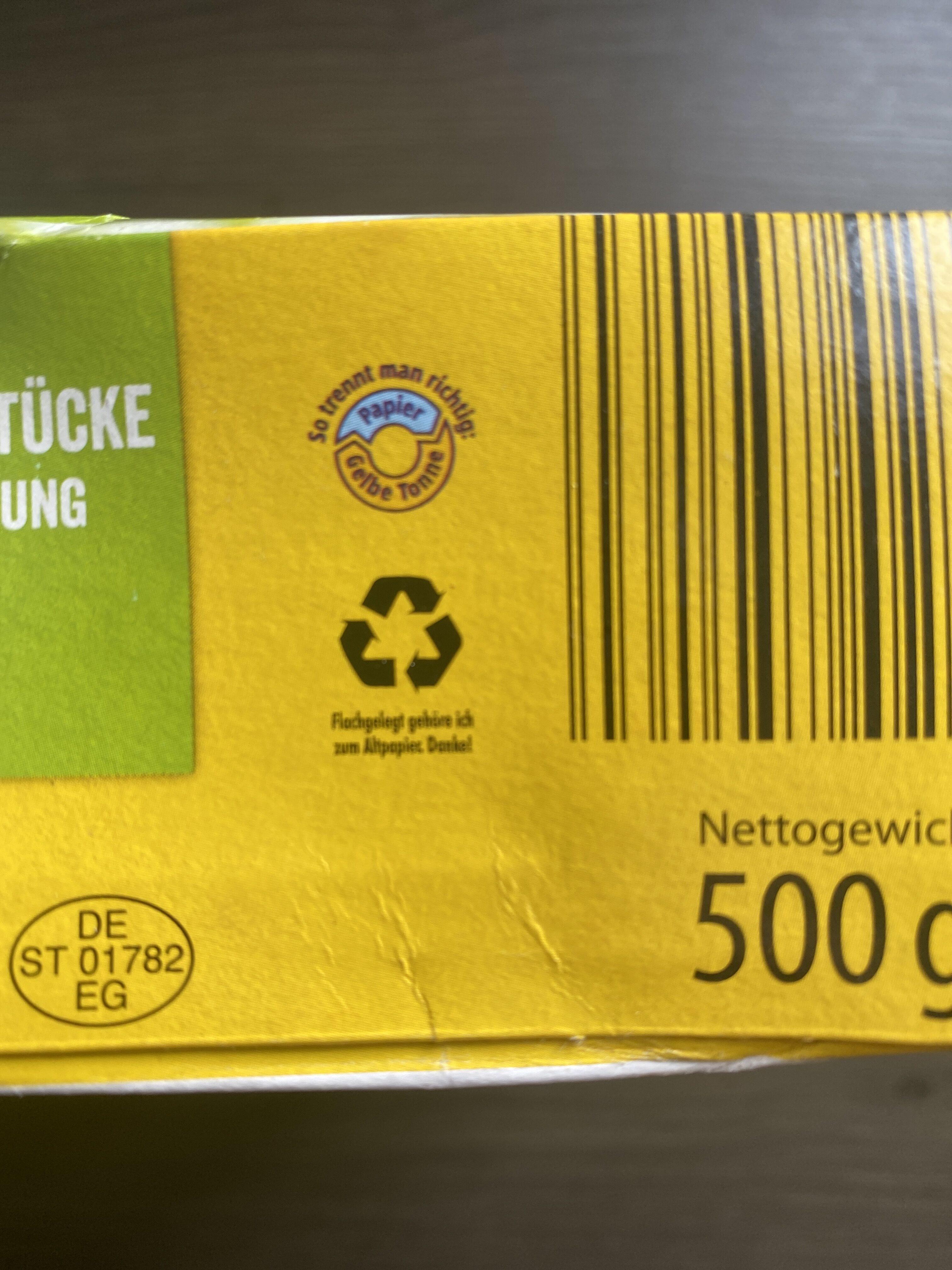 Jacks Farm Hähnchenbrustfilet Teilstücke - Wiederverwertungsanweisungen und/oder Verpackungsinformationen - de
