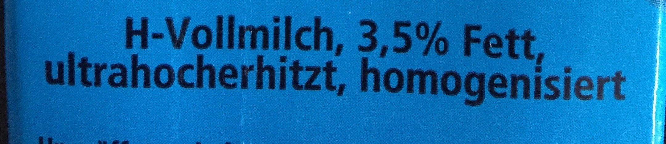 Milch - Ingredients - de