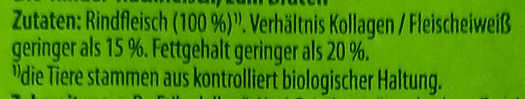 Rinder-Hackfleisch - Ingredients