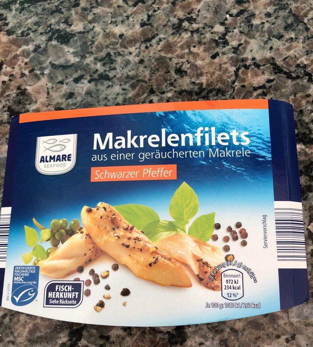 Filet de maqureaux au poivre - Produit - fr