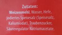 Sonntagsbrötchen - Ingredients