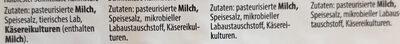 Feines Käsebuffet - Ingrediënten - de
