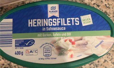 Dill-Sahne-Heringsfilets - Produkt - de