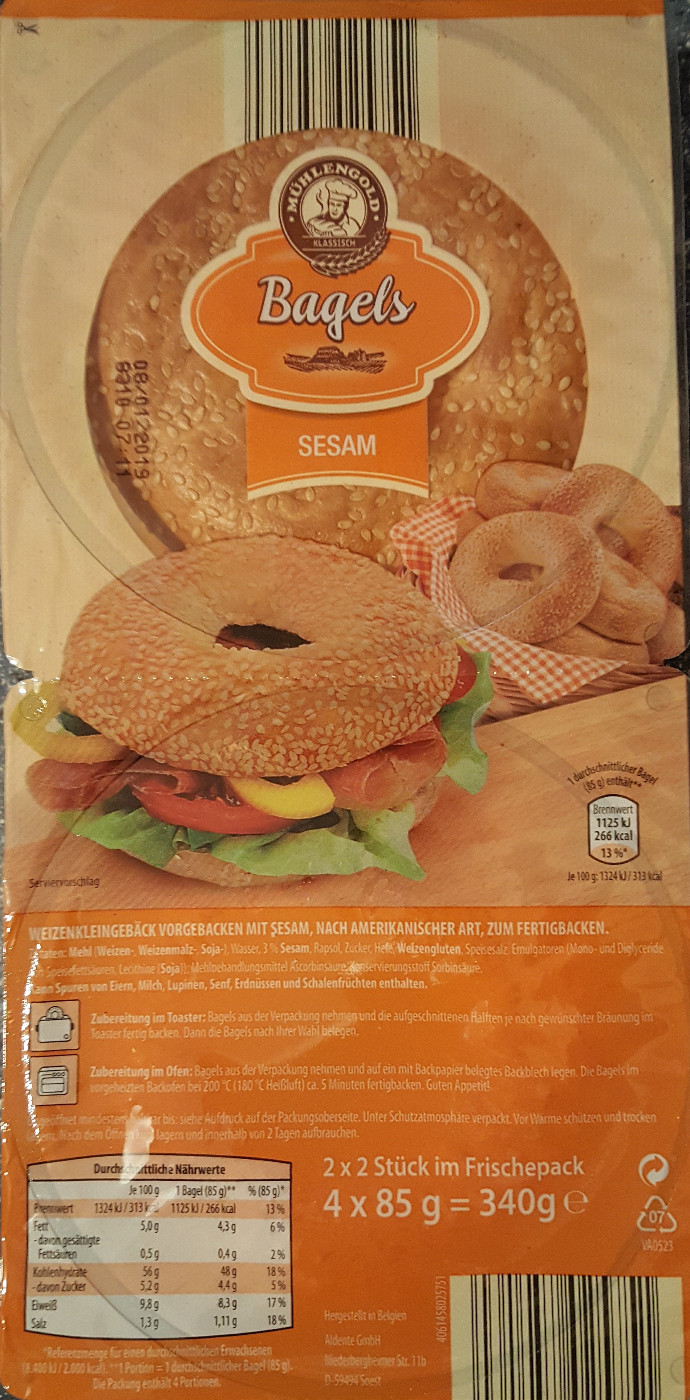Bagels - Product