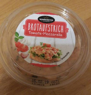 Brotaufstrich Tomate-Mozzarella - Produkt