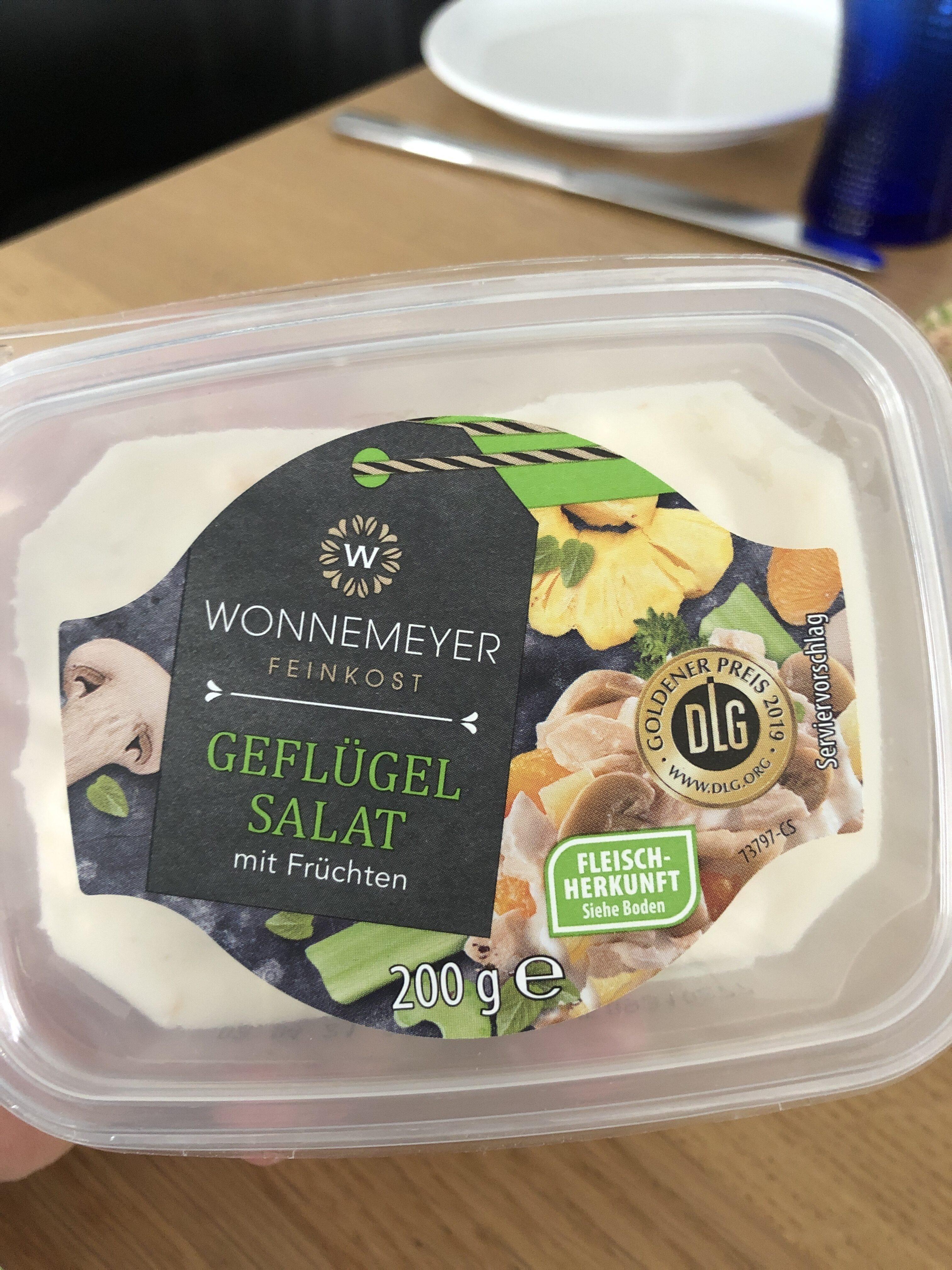 Geflügel Salat - Produit - de