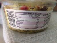 Couscous Salat - Informação nutricional - pt