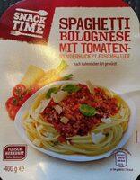 Spaghetti Bolognese mit Tomaten- Rinderhackfleischsauce - Produit - de
