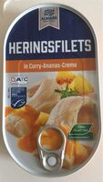 Heringsfilet in Curry Ananas Creme - Produit - de