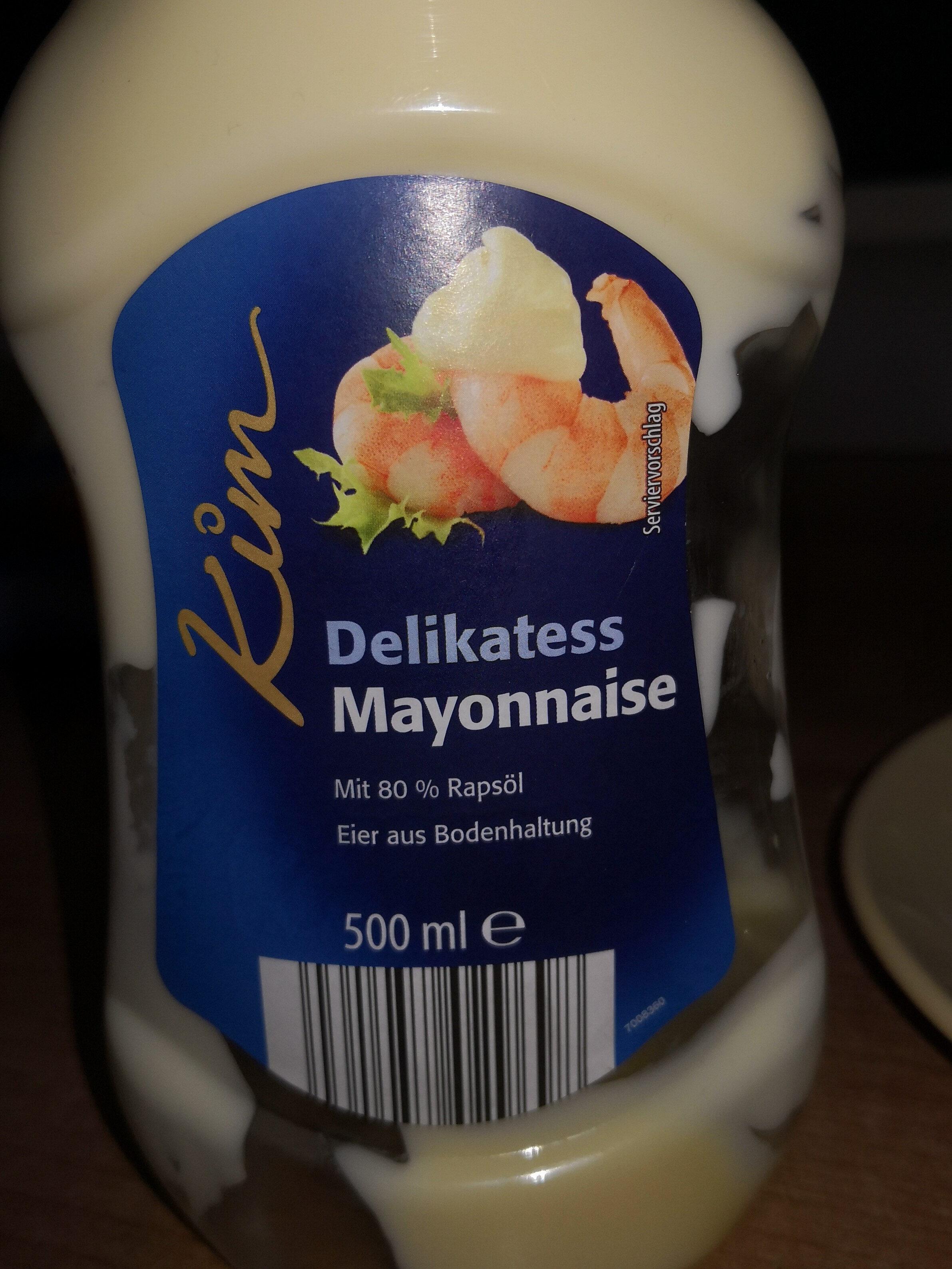 Delikatess mayonnaise - Produit