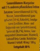 Sonnenblumen Magarine - Zutaten - de