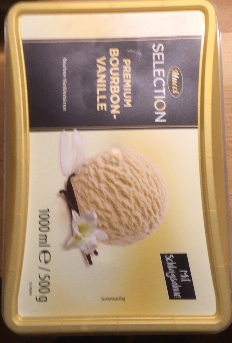 Bourbon vanilleeiskrem - Produkt - de