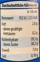 Hausmacher Senf süß - Nutrition facts - en