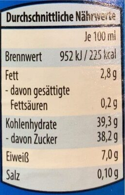 Hausmacher Senf süß - Nutrition facts - en