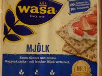wasa mjölk roggenknäcke - Produkt