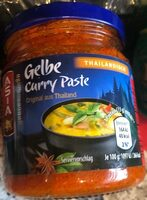 Gelbe Curry Paste - Product