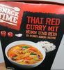 Thai red curry mit Huhn und Reis - Produkt