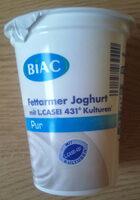 BiAC Fettarmer Joghurt Pur - Product