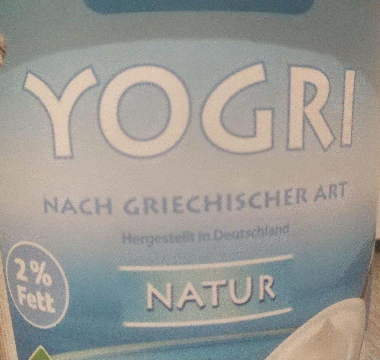 Yogri nach griechischer Art - Produkt - de