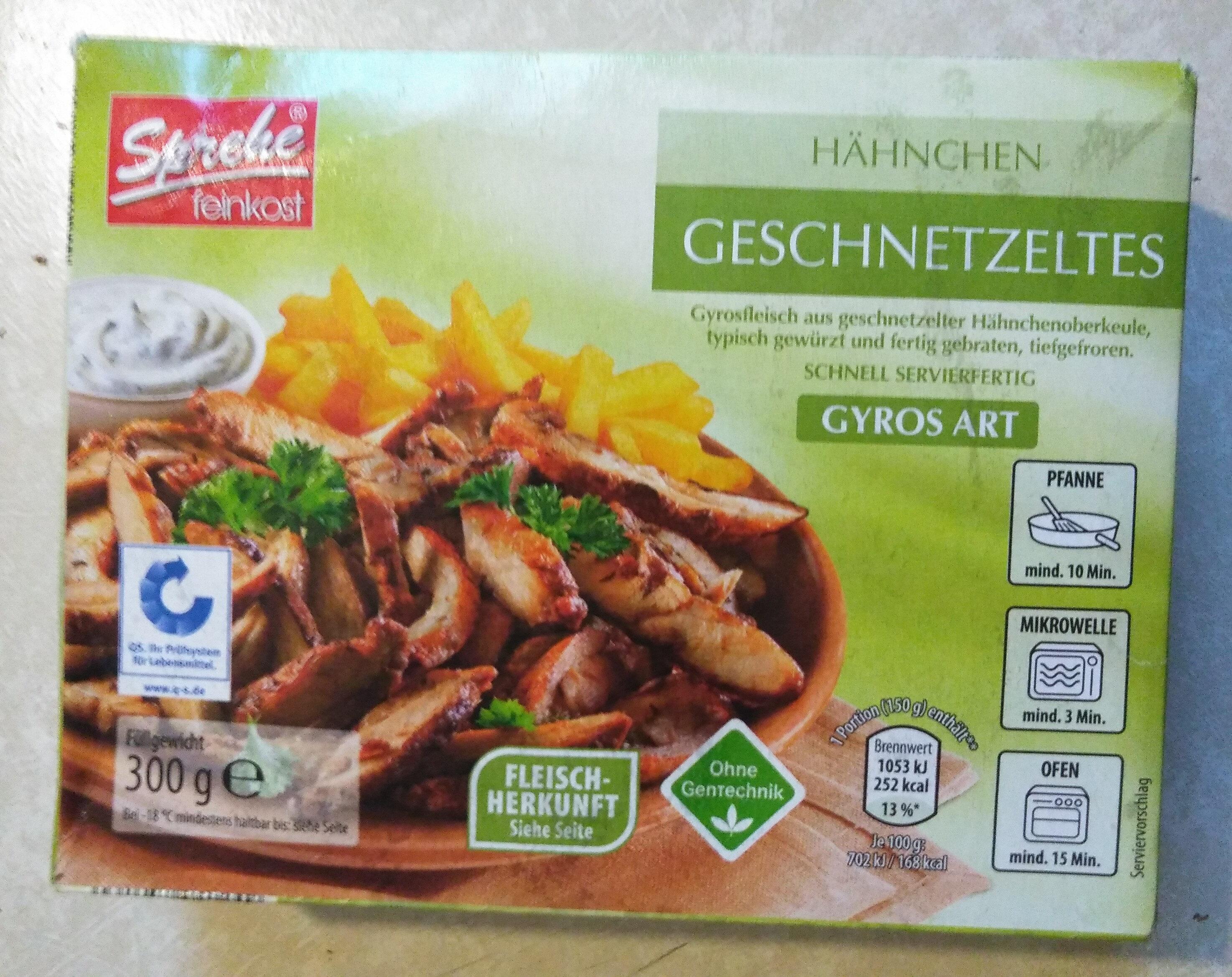Hähnchen Geschnetzeltes - Produit