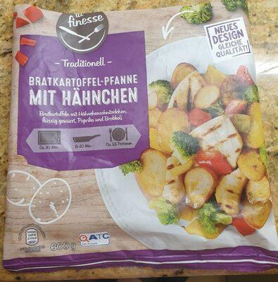 Bratkartoffel-Pfanne mit Hähnchen - Produit - de