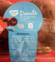 Donots mit kakaohaltiger Fettglasur - Produit - de