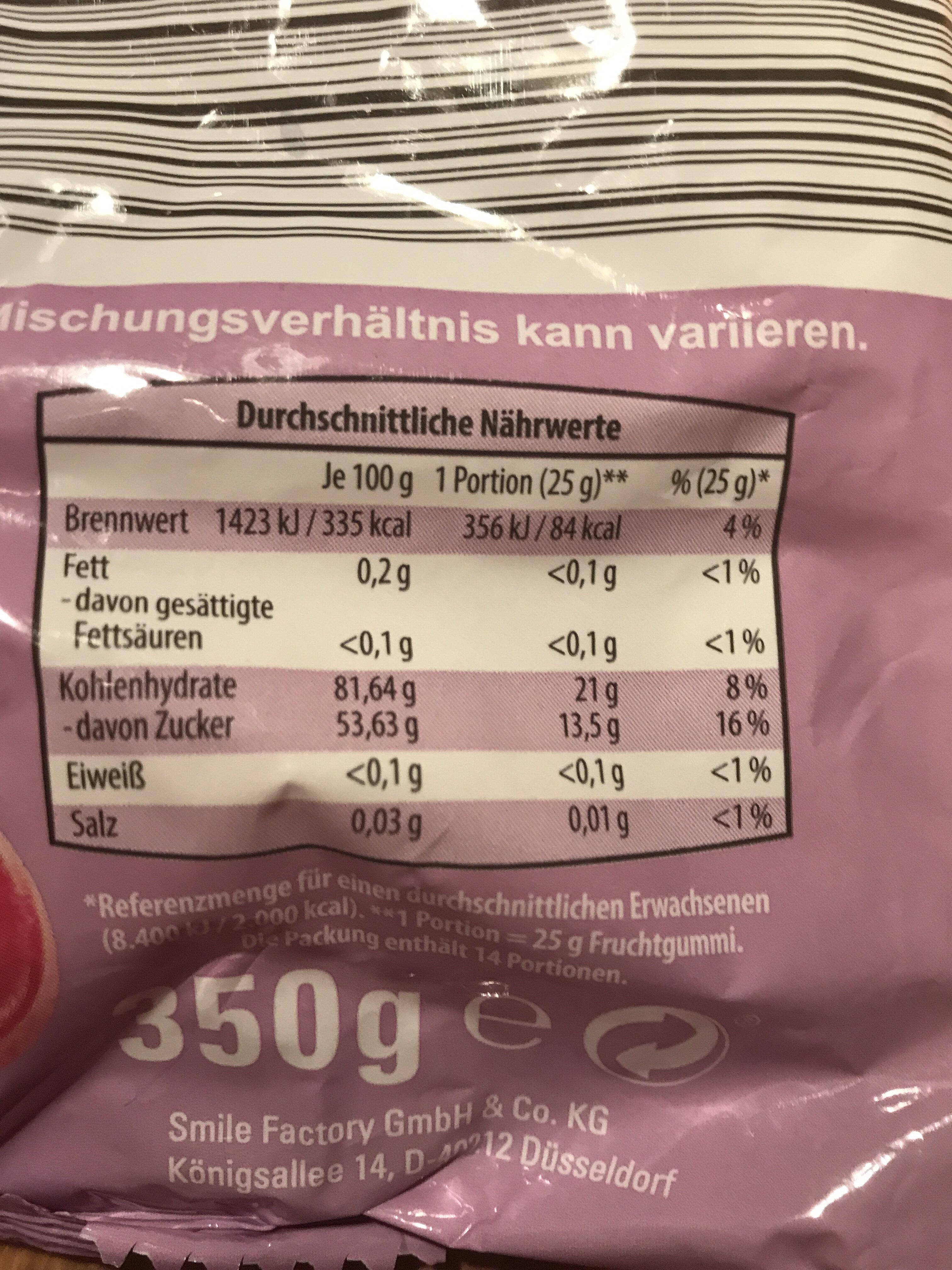 Mädelsabend - Nutrition facts - de