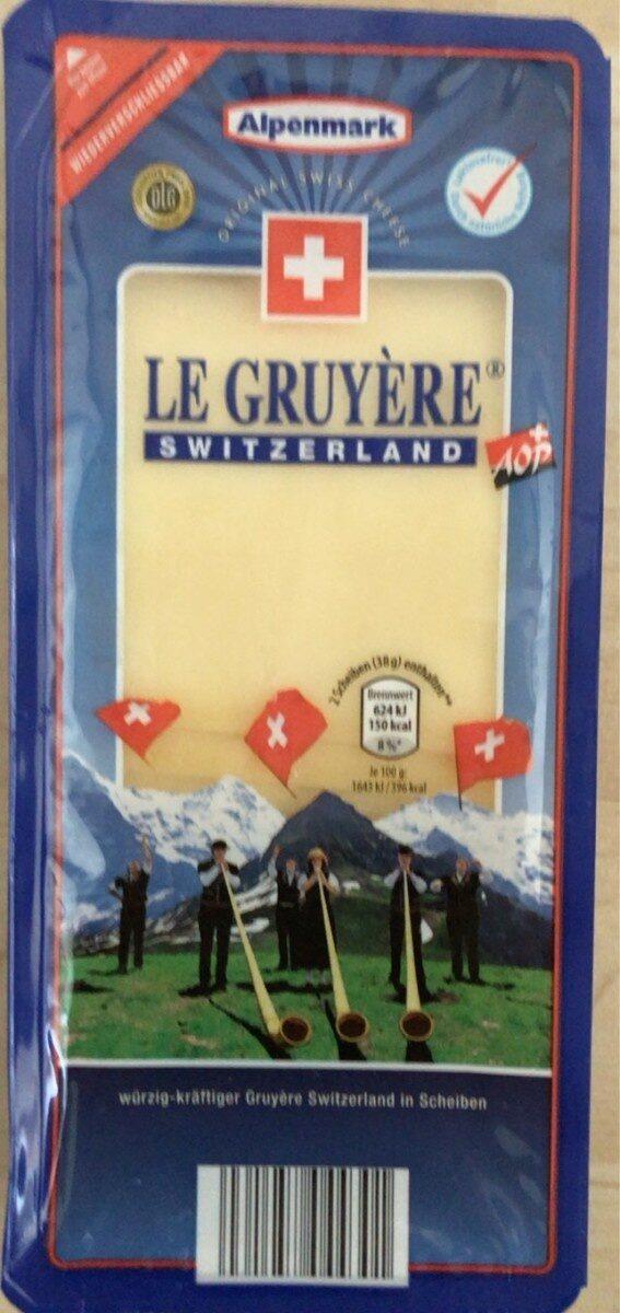 Le gruyère - Prodotto - fr