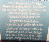 Schmelzkäse Creme leicht - Ingrediënten - de